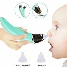 Elektrischer Nasensauger Baby Nase Snot Reiniger Sauger Schleim Aspirator NEU DE