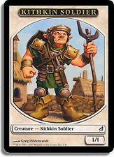 5x TOKEN Soldato Kithkin - Soldier MTG MAGIC Lor Ita