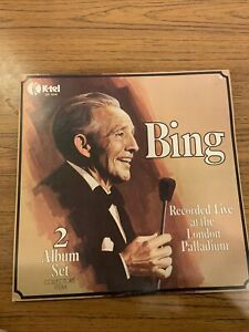 Bing - Record Live at the London Palladium - Double Vinyl Record