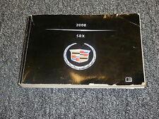 2008 Cadillac SRX Owner's Owner Operator's Manual User Guide V6 V8 AWD