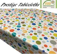 Leaves PVC Wipe Clean Vinyl Tablecloth ALL SIZES Code F783-3