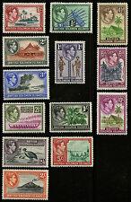 Solomon Islands  1939-51   Scott #  67-79    Mint Lightly Hinged Set
