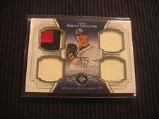 2012 TOPPS MUSEUM JEREMY HELLICKSON QUAD GAME JERSEY *3 CL* PATCH #57/99  RAYS
