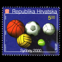 Croatia 2000 - Summer Olympic Games Sydney Sports - Sc 439 MNH
