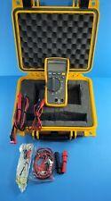 Fluke 116 Trms Multimeter Excellent Screen Protector Hard Case Accessories