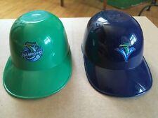 MiLB Mini Helmets Vermont Lake Monsters retired logo A's Minor League