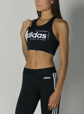 Adidas Women's Brilliant Basics Low-Impact Sports Bra Top - EI0795 - Black