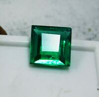 8  cts. Untreated Natural Princess Cut Colombian Emerald Loose Gemstone