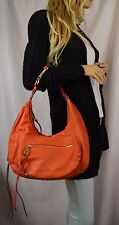 JOELLE HAWKINS Treesje Fame Moment Burnt Orange Studded Hobo Slouch Bag
