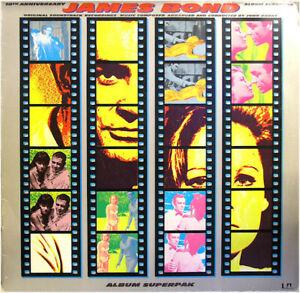 James Bond - 10th Anniversary DO-LP Vinyl (1973) - UAS 29 563/64 XC