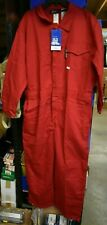 Neese Wear FR Westex Indura Flame Resistant HRC2 Coveralls Red XL 46/48 Short