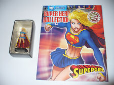 DC Super Hero Collection Eaglemoss Hand Painted Figure & Book - Supergirl # 14