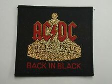 Ac/Dc Hell'S Bells Woven Patch