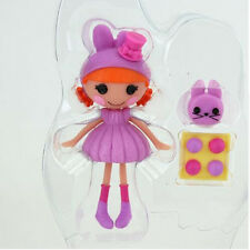 Purple set 3Inch Original MGA Lalaloopsy Doll with accessories For Girl'sToy