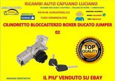 CILINDRETTO BLOCCASTERZO BOXER DUCATO JUMPER 02 BLOCCHETTO ACCENSIONE AVVIAMENTO