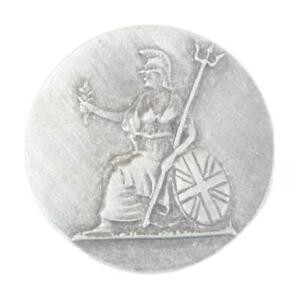 Britannia Pewter Tie, Hat or Lapel Pin Badge Brooch Gift Present516