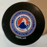 WILKES-BARRE SCRANTON PENGUINS AHL VEGUM MFG. OFFICIAL HOCKEY PUCK -SLOVAKIA