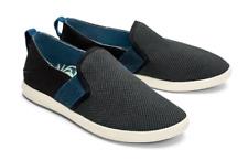 Olukai Hale'Iwa Black Teal Slip-on Sneaker Shoe Women's US sizes 5-11 NEW!!!