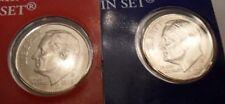 2009 P & D Roosevelt Dime Set (2 Coins) *MINT CELLO*   **FREE SHIPPING**