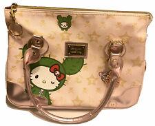 Used Tokidoki x Hello Kitty Boston Sandy Bag Large Pink Handbag Purse LT ED 2008