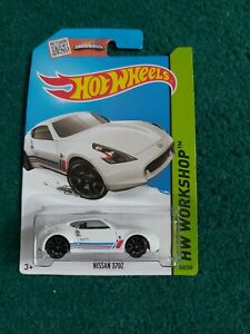 HOT WHEELS NISSAN 370Z HW WORKSHOP LONG CARD