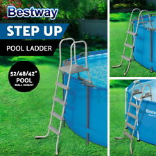 Bestway Ladder Above Ground Swimming Pool Removable Steps 3 Sizes