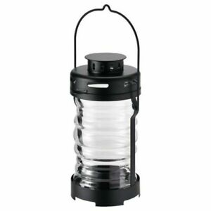 "IKEA GLIMRANDE Lantern f/tealight, indoor outdoor, black, Glass 9 "" FREE SHIPPIN"