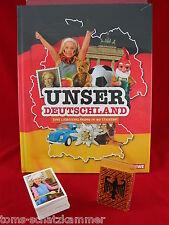 REWE Unser Deutschland Satz komplett + Album = alle 180 Sticker + Leeralbum