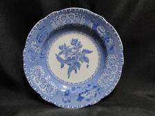 """Copeland Spode's Camilla Blue, Floral: Bread Plate (s), 6 1/4"""", Crazing"""