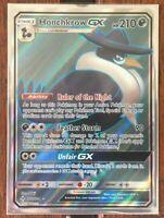 Pokemon Card  HONCHKROW  GX  Ultra Rare 202/214 UNBROKEN BONDS *MINT*