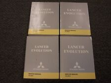 2004 Mitsubishi Lancer Evolution EVO Shop Service Repair Manual Set RS VIII 2.0L