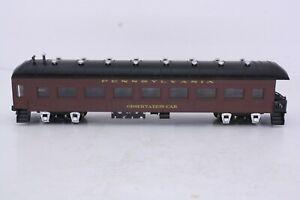 Roundhouse HO Scale Pennsylvania Railroad Harriman Observation Car Built Kit