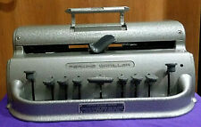 Leather Dust Cover for Perkins Brailler