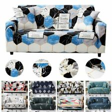 Stretch Sofa Cover 1234 Polyester Elastic Tight Wrap Slipcover Couch Protectors