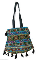 INDIAN HANDMADE BANJARA HAND BAG EMBROIDERED WOMEN SHOULDER BAG COTTON NEW