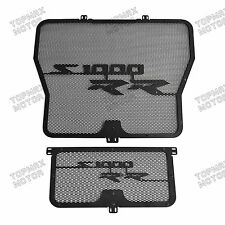 Radiator Grill Oil Cooler Cover Protector For BMW S1000RR 10-16 S1000R 14 15