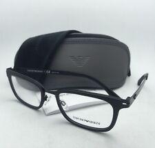 ea305c634bf Emporio Armani Eyeglasses EA 1034 3001 52-19 Matte Black Frame W  Clear Lens
