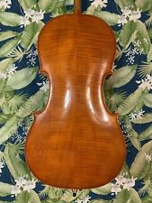 Old Antique German Cello 4/4 Semi Vintage - nice sound w/ case USA ONLY