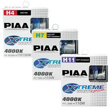 PIAA Xtreme White Plus Car Bulbs - H4 H7 H11 Fittings
