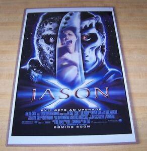 Friday the 13th Jason X Jason Voorhees 11X17 Movie Poster Kane Hodder