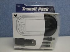 TRANSIT PACK FOR PSP CONSOLE- CASE, IN-CAR POWER/USB CHARGER & EARPHONE SPLITTER