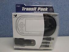 Confezione di transito per console PSP-Case, In-Car Alimentazione / Caricabatterie USB e splitter auricolari
