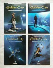 Lot BD - Golden City T.1 à 4 / EO & RE / PECQUEUR / MALFIN / DELCOURT
