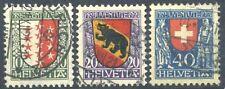 Schweiz Pro Juventute Wappen 1921 o (S2948)