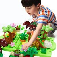 Set of 40 Dinosaur Jurassic Building Block Educational Toy for Children Fun Gift