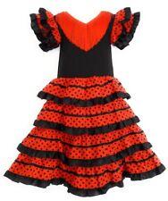 Flamenco robe pour  fille  4- 6  ans