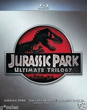 Jurassic Park Ultimate Trilogy Collection ALL 3 MOVIES + NEW 3-DISC BLU-RAY SET