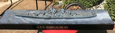"1/350 USS BB-63 MISSOURI Built - 77cm Long 30"" plus MAKE OFFER"