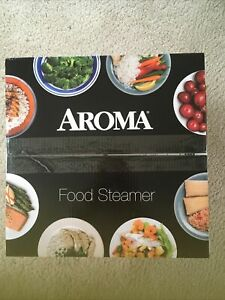 Aroma Housewares 5-Quart Food Steamer Stainless Steel NIB