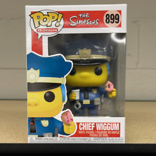 Funko Pop! Tv: The Simpsons - Chief Wiggum (In Stock) Vinyl Figure